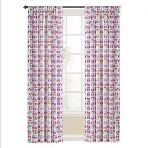 FIVE PANELS of OWL 0533643 Curtains